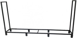 Style Selections 49-in x 95.98-in x 13.5-in Steel Half Cord Firewood Rack - $82.71