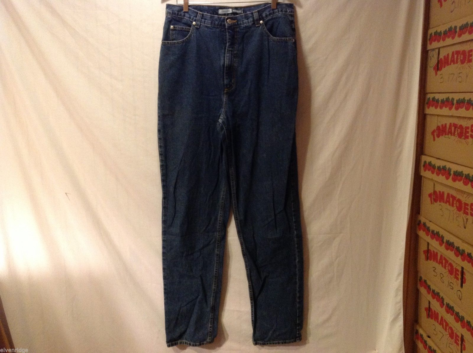 St. John's Bay Women Denim Jeans, Size 16 Ultra Tall Length