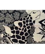 Hermes Cashmere Shawl 140 The Three Graces Giraffes Caban 20 years on eBay - $1,480.05