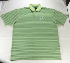 best value 82a73 6ac95 Nike Golf Dri-Fit UV Short Sleeve Striped Polo Shirt The Quarry Men  39