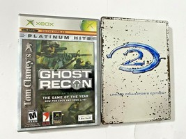 Lot of 2 Original Xbox Combat Video Games (Halo 2 & Ghost Recon) - See C... - $16.99
