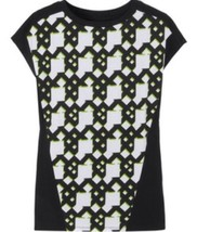 PETER PILOTTO for TARGET TEE Netting SHIRT BLACK - SIZE Small S - $11.69