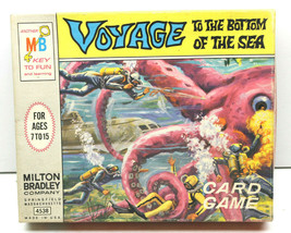 1964 Voyage To The Bottom Of The Sea Milton Bradley Card Game TV Movie Complete - $42.06