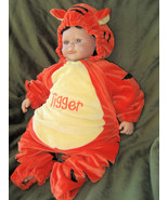 Disney Tigger Kids Baby 6 to12 Months Winnie the Pooh Orange Tiger Infant - $13.95