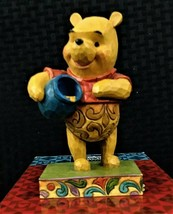 "New Jim Shore Enesco Disney Traditions Winnie the Pooh ""Hunny of a Bear"" w/ Box - $29.99"