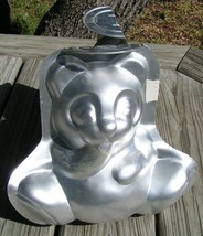 3D 2pc Stand up TEDDY BEAR Wilton CAKE PAN Mold baking 502-501 vintage - $41.99
