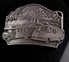 Vintage RV Belt Buckle - SISKIYOU camper buckle -  Men's retirement gift... - $75.00