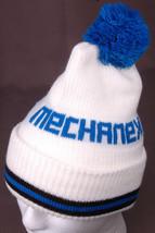 Mechanex Hat-Knit-White Blue Pom Pom-Toque-Benie-After Market Auto Parts... - $31.64