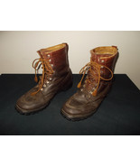 VTG-Wood N' Stream Weinbrenner Leather Sport Hunting Work Boots Size 10.... - $139.89