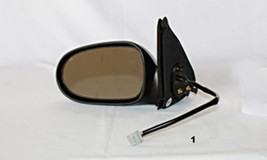 Fits 00-03 Nissan Sentra Left Driver Power Mirror Smooth Black With Heat - $39.95