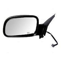 Fits 99-04 Grand Cherokee Left Driver Mirror Power Texture With Heat No Auto DIm - $51.95