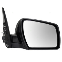 Fits 12-13 Kia Soul Right Pass Mirror Power Unpainted Black No Heat or Signal - $55.95