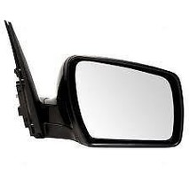 Fits 10-11 Kia Soul Right Pass Mirror Power Unpainted Black No Heat or Signal - $55.95