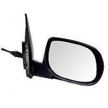 Fits 10-13 Kia Forte Koup Right Pass Manual Mirror Unpainted Manual Folding - $72.95