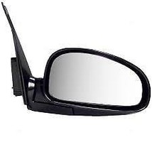 Fits 01-06 Kia Optima Right Passenger Mirror Power Non-Painted Blck Without Heat - $55.95