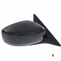 Fits 14-15 Infiniti Q60 Conv Right Pass Power Mirror Unpainted W/Ht,Mem,Pwr Fold - $133.95