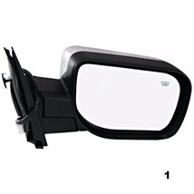 Fits 04-10 QX56 Right Pass Chrome Power Mirror W/Heat, Single Arm, Manual Fold - $58.95
