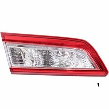 FITS 12-14 TOYOTA CAMRY LEFT DRIVER TAIL LAMP ASSEMBLY LID MOUNTED - $52.45