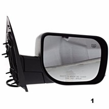 Fits 04-10 QX56 Right Pass Textured Power Mirror W/Heat, Single Arm, Man Fold - $55.95