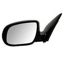 Fits 10-11 Accent Left Driver Mirror Power Non-Painted Black No Heat - $55.95