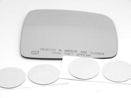 02-07 Liberty Right Pass Convex Heated Mirror Glass Lens w/Adhesive BAP3715H USA - $35.95