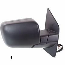 Fits 04-10 QX56 Right Pass Textured Power Mirror W/Ht,Mem,Single Arm,Man Fold - $72.95