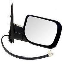 Fits 04-10 QX56 Right Pass Chrome Power Mirror W/Ht,Mem, Lamp,Sing Arm, Man Fold - $77.95