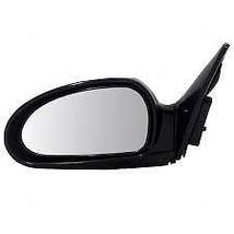 Fits 99-05 Sonata Left Driver Mirror Power Non-Painted Black No Heat - $47.95