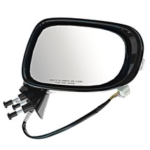 Fits 09-13 Lexus IS250 IS350 Right Pass Mirror Power Unpainted W/Heat, Sig, Lamp - $122.95