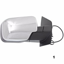 Fits 04-10 QX56 Right Passenger Chrome Mirror With Single Arm Manual Folding - $66.95