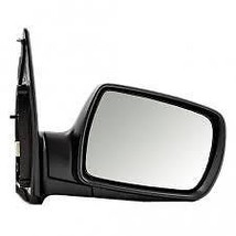 Fits 09-14 Sedona Right Pass Mirror Power Unpainted Black With Signal No Heat - $118.95