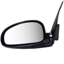 Fits 01-06 Kia Optima Left Driver Mirror Power Non-Painted Black Without Heat - $55.95
