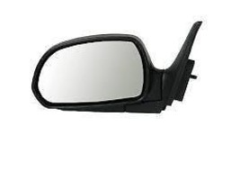 Fits 02-04 Kia Spectra 1.8L Left Driver Mirror Power Unpainted Black No Heat - $52.95