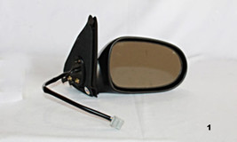 Fits 00-03 Nissan Sentra Right Passenger Power Mirror Smooth Black With ... - $39.95
