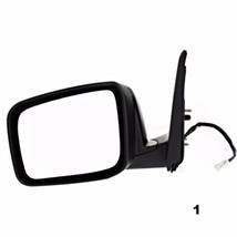 Fits 08-13 Rogue Left Driver Power Mirror Textured W/Heat No Side View C... - $79.95