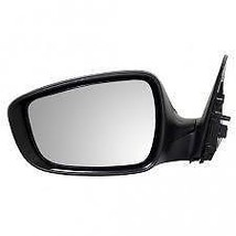 12-14 Veloster Lt Driver Mirror Pwr Non-Painted Blk w/Heat w/o Sign,Panoram Roof - $69.95