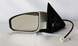 Fits 04-08 Maxima Left Driver Power Mirror Unpainted With Heat Manual Folding - $54.95