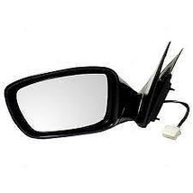 Fits 11-14 Sonata Exc Hybrid Left Driver Mirror Unpainted With Heat No S... - $55.95