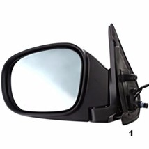 Fits 01 03 Infiniti Qx4 From 11/00 Left Driver Power Mirror With/Heat Blue Glass - $76.60