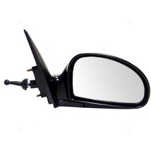 Fits 04-09 Spectra 2.0L Rt Pass Clear Mirror Manual Remote Smooth Black - $59.95