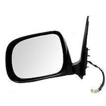 Fits 05-11 Toyota Tacoma Left Driver Mirror Power Textured Black Manual ... - $50.95