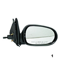 Fits 00-06 Nissan Sentra Right Passenger Manual Remote Mirror Smooth Unp... - $32.95