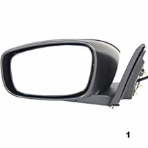 Fits 08-13 Infiniti G37 Coupe Left Driver Power Unpainted Mirror W/Ht No Memory - $64.95