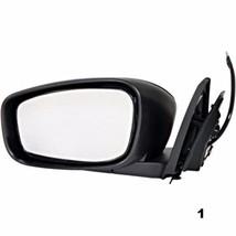 Fits 14-15 Infiniti Q60 Coupe Left Driver Power Mirror Unpainted No Heat or Mem - $60.95