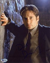 David Duchovny X-Files Signed 8x10 Photo Certified Authentic Beckett BAS COA - $247.49