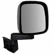 03-06 Jeep Wrangler Right Passenger Mirror Manual Textured Black - $34.95