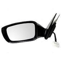 Fits 11-14 Sonata Exc Hybrid Left Driver Mirror Unpainted With Signal No... - $90.95