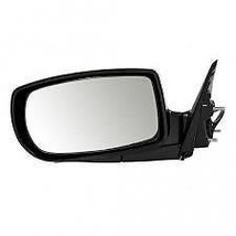 Fits 10-16 Genesis Coupe Left Driver Mirror Powr Unpainted Fold With Heat No Sig - $57.95