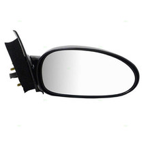 Fits 97-02 Saturn S Series Coupe Right Passenger Mirror Power Unpainted Black
