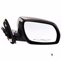 Fits 05-07 Murano Right Pass Power Mirror Unpainted W/Heat, Mem No Smart Entry - $70.95